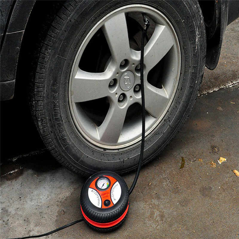 Car air pump 260PSI DC 12V Auto Pump Portable Electric Mini Tire Inflator Air Compressor dropship 19F22