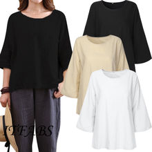 03a9b36ca62 Buy flax linen tops and get free shipping on AliExpress.com