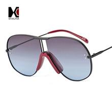 SHAUNA Oversize Pilot Sunglasses Women Fashion Men Gradient lens Shades winter