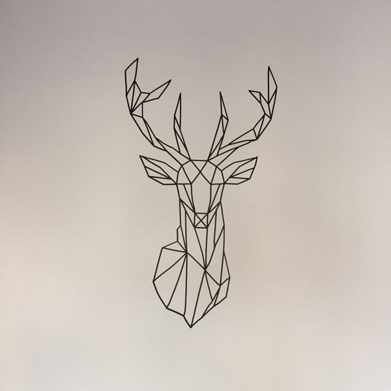 Geometric Deer Wallpaper | www.pixshark.com - Images ...