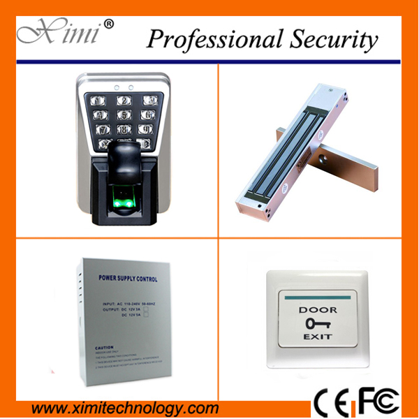 Free shipping fingerprint accescontrol system tcp/ip IP65 waterproofed 3000 fingerprint user smart biometric door lock кальсоны user кальсоны