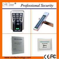 Free shipping fingerprint accescontrol system tcp/ip IP65 waterproofed 3000 fingerprint user smart biometric door lock