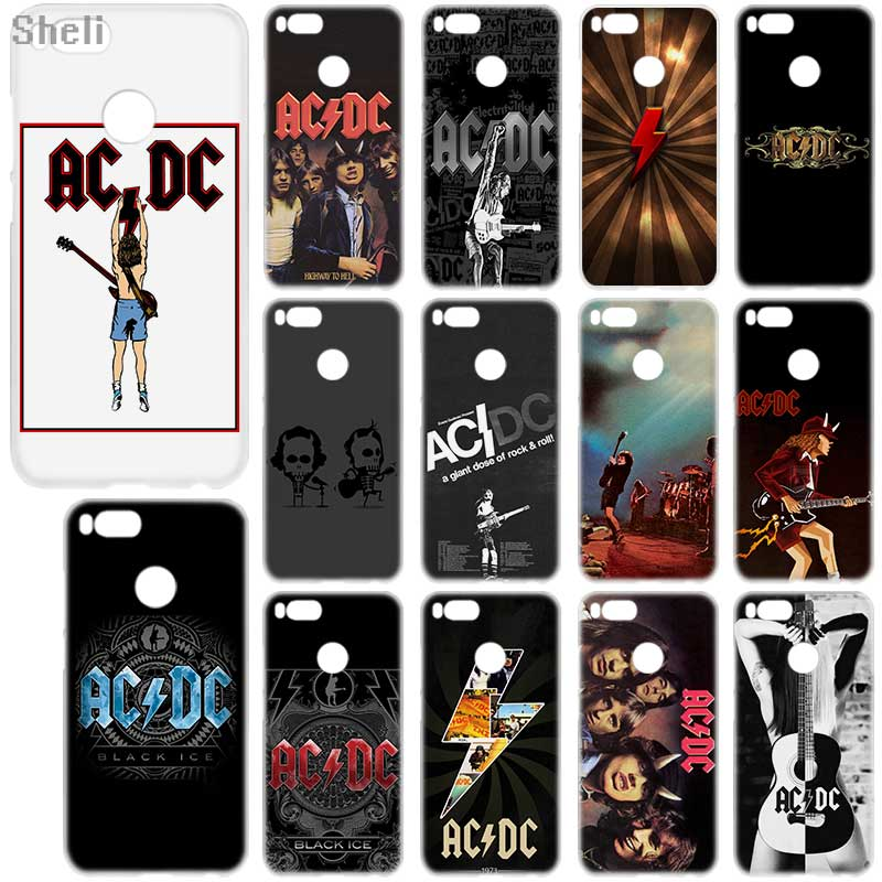 Sheli <font><b>ac</b></font> <font><b>dc</b></font> poster Hard phone case for Xiaomi 9 5X A2 redmi note 7 4x <font><b>5A</b></font> <font><b>5</b></font> pro 4a 4x <font><b>5a</b></font> 5plus 6a 6pro 9 8 Note7 image