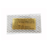 Electroplating Machine Accessory, Gold Plated Titanium Mesh For Rectifier Machine