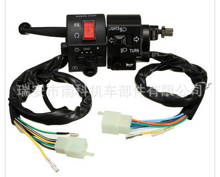 by dhl or ems 100sets motorcycle switch for suzuki  GN125 switches universal accessories motorbike handlebar Controller moto new