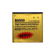 BA950 Battery for Sony Xperia ZR M36h SO-04E C5502 C5503 Rechargeable li ion Accumulator Batteries on the Phone(China)