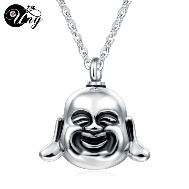Alibaba aliexpress uny 316l uny 316l stainless steel maitreya buddha pet urn ashes pendant perfume bottle memorial ash keepsake cremation mozeypictures Choice Image