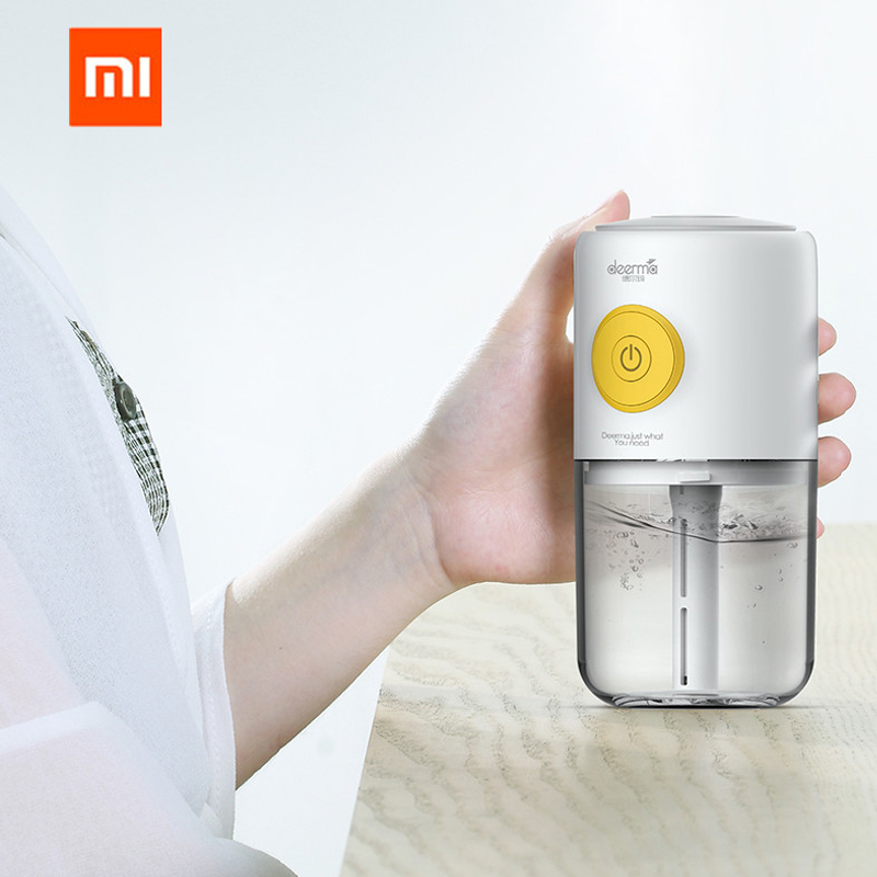 Original xiaomi Mijia deerma Mini USB Air Humidifier quiet Air Purifying Colorful lights can adding aromatherapy for car homeOriginal xiaomi Mijia deerma Mini USB Air Humidifier quiet Air Purifying Colorful lights can adding aromatherapy for car home