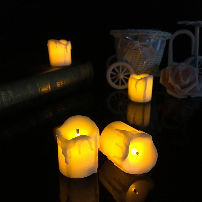 Bright Ultra Flameless Candles Battery Operated LED Electronic Candle Light Marriage Wedding Christmas Home Decoration