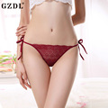 GZDL Sexy Ladies Underwear Lingerie low-Waist Hollow Comfortable Mesh Lot G-String V-String Thongs Briefs Women Panties NY280
