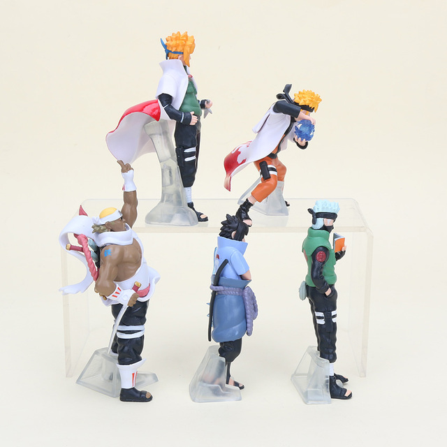 5 Piece set Naruto Action Figurines