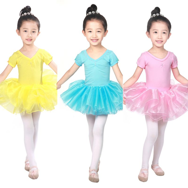 6630ad3b2 Hot Girls Party Leotards Costume Kids Ballet Tutu Dress Dance Dress ...