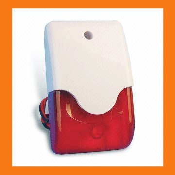 Wired siren & strobe spot alarm systems as alarm accessory wholesale | Home Alarm Systems Safety alarm kits