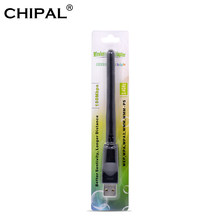 Chipal Ralink RT5370 150 Mbps Jaringan Nirkabel Kartu Mini USB 2.0 WIFI Adaptor 2dbi Antena PC LAN Wi-fi Receiver Dongle 802.11n(China)
