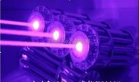AAA Powerful Military blue laser pointer 500000m 5000Watt 450nm Flashlight lazer Light Burning Match/paper/black/burn cigarettes