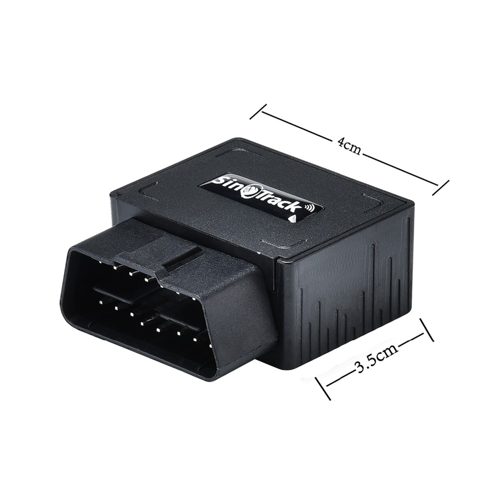 Mini Plug Play OBD GPS Tracker Bil GSM OBDII Vehicle Tracking Device - Bilelektronik - Foto 2