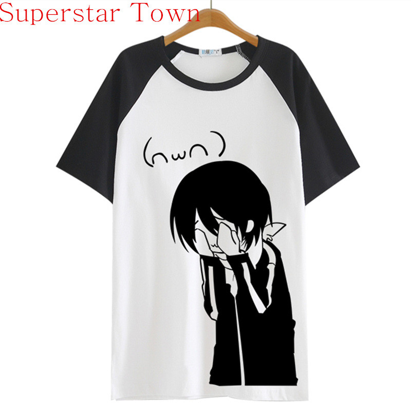 HTB17wLZMpXXXXXzXFXXq6xXFXXXB - Summer Style Sudadera Anime Tops Tee Casaul Noragami T-shirt