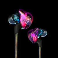 Professional KZ Sports HiFi In Ear Earphone Colorful BA DD Hybrid Dual Driver Earbud Super Bass