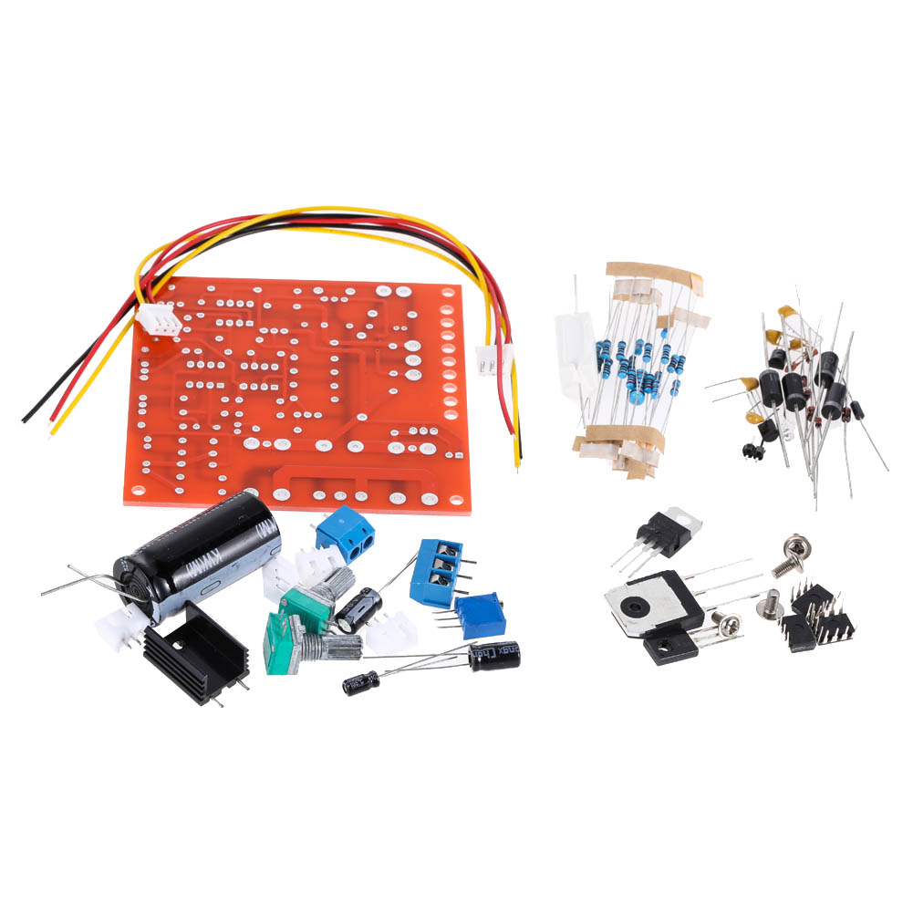 DC Regulated Power Supply DIY Kit Continuously Adjustable Short Circuit Current Limiting Protection 0-30V 2mA-3A