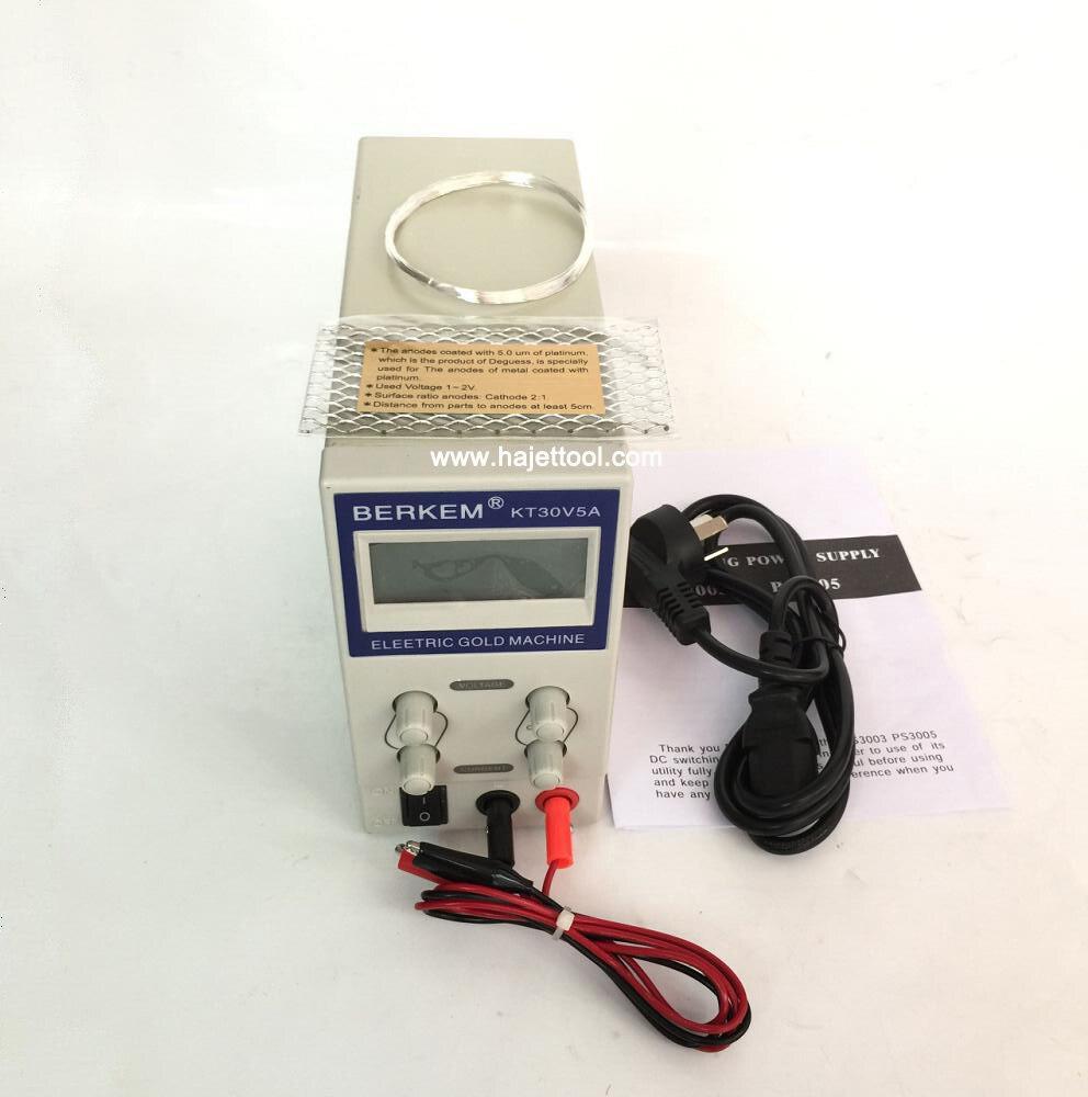 Kostenloser Versand Schmuck beschichtung maschine 30 V 5A Digitale rhodium beschichtung maschine vergoldung maschinen mit titan mesh und draht-in Schmuckwerkzeuge & Ausrüstung aus Schmuck und Accessoires bei  Gruppe 2