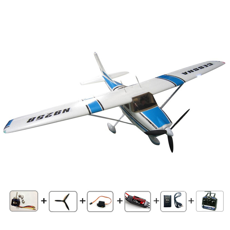 RC airplanes Cessna 182 EPO Brushless version 810mm small 2.4Ghz 4 Channel remote control airplane Free shipping