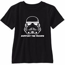 Support The Troops T Shirt Star Wars Stormtrooper Free shipping  Harajuku Tops Classic Unique