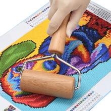 5D алмазная живопись набор инструментов деревянный Ролик DIY алмазные аксессуары для рисования для алмазной живописи прилипающие плотно деревянный ролик