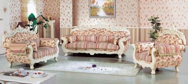 Alta calidad moderna Alemania salón mueble de salón sofá de tela ...