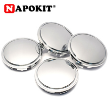 4pcs/lot 65mm 6.5cm Chrome Plastic Car Wheel Center Caps Car Hub Cap Cover for Skoda for Volkswagen Dust proof Hubcap 3B7601171
