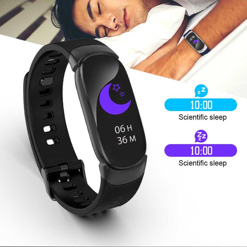 BANGWEI גברים חכם שעון LED עמיד למים שעון חכם שעון נשים לב קצב דם לחץ ספורט שעון מד צעדים עבור אנדרואיד iOS