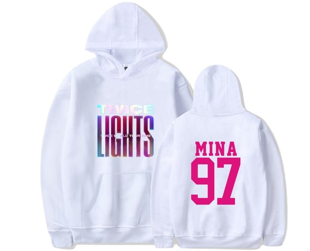 2019 TWICE WORLD TOUR HOODIE (17 VARIAN)