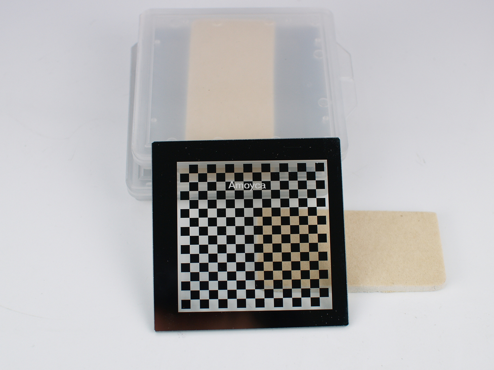 Chessboard target, machine vision,OpenCV, Correct the lens distortions,calibrate camera 3X3mmChessboard target, machine vision,OpenCV, Correct the lens distortions,calibrate camera 3X3mm