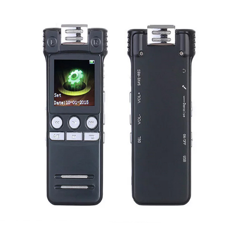 Professional Mini Voice Recording 8GB Digital Hidden Voice Recorder Pen Stereo Audio Recorder With Microphone MP3 WAV Dictaphone 8gb digital voice recorder mini rechargeable dictaphone recording pen drive sound audio recorder with mp3 player u disk 700