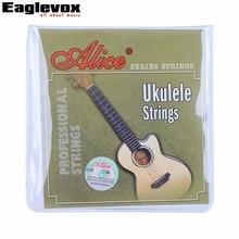 Clear Nylon Ukulele Strings 0.022 – 0.022 inch Alice AU04