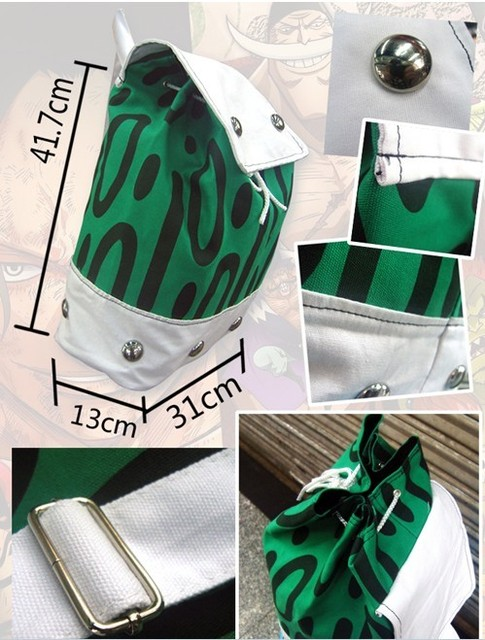 One Piece Portgas D Ace Backpack Shoulder Bag