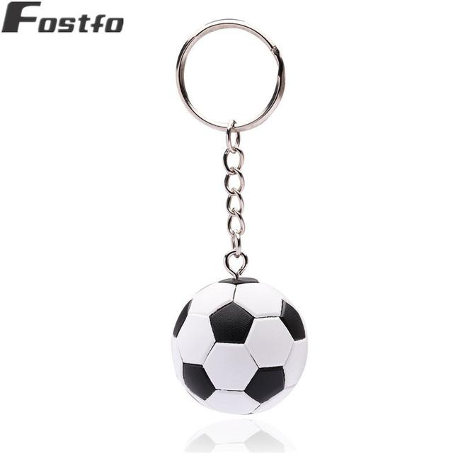 New Stereoscopic football keychain Fashion Sport Soccer Ball Key Chains Bag Pendant Trinket Items Key Ring Jewelry Gift