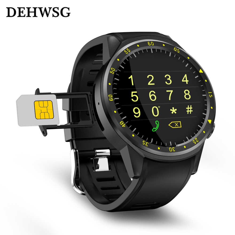 F1 Спорт Смарт часы сердечного ритма с Камера GPS Bluetooth SmartWatch  sim-карты наручные часы ea874d42e89c5