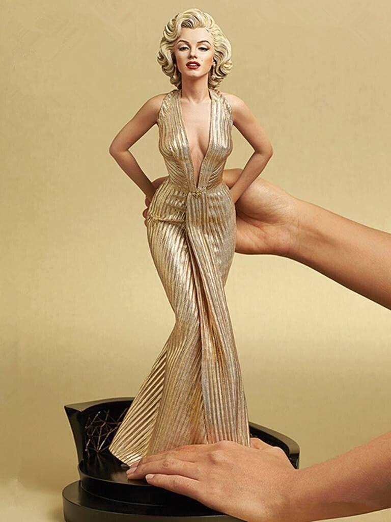 [Limited] 42 см блондинкам Мэрилин Монро статуя ПВХ Sexy Lady звезда рисунок pvc 1/4 Весы Коллекционная модель игрушки подарок