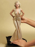 [Limited] 42cm Blondes Marilyn Monroe Statue pvc Sexy Lady star Figure PVC 1/4 Scale Collectible Model Toy gift