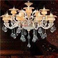 Zinc Alloy Crystal Lamp Living Room Dining Room Chandelier Bedroom Light Hotel Clothing Store Beauty Salon