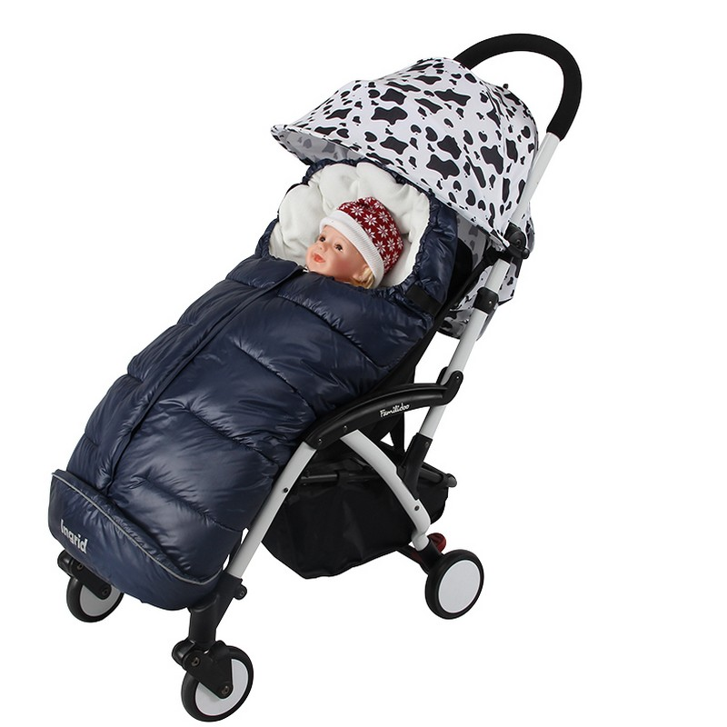 цена на New Baby doll stroller whale bag Windproof thermal sleeping for wheelchairs envelope newborn Pram sleeping case cart accessories