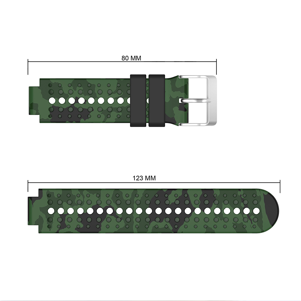 Silicone Replacement Watch Strap Wrist band Strap for Garmin Forerunner 230 235 220 620 630 735 Smart Watch Smart Accessories in Watchbands from Watches