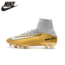 f38b667ec20 Nike MERCURIAL SUPERFLY V AG Soccer Shoes Superfly High Ankle Football  Boots Outdoor for Men 831955
