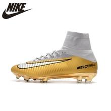 sneakers for cheap 2979a 3d19a Nike MERCURIAL SUPERFLY V AG Chaussures de Soccer Superfly Haute Cheville  chaussures de football En Plein Air pour Hommes 831955.