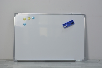 """150 x 100 cm(60""""x40"""") Writing Dry Erase White Board Magnetic Message Whiteboard for School or Office"""