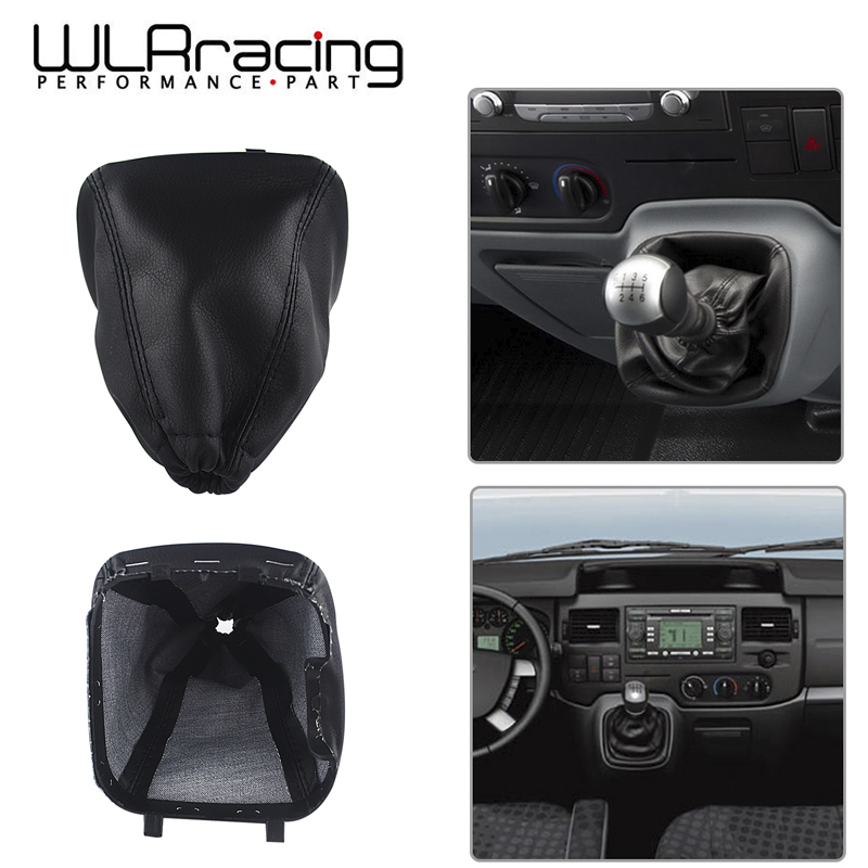 US $1 83 10% OFF WLR RACING Gear Shift Lever Gaiterstick Gaiter Boot Cover  Gear Shift Collars For Ford Transit Van MK7 2006 2013 Car WLR SBC14-in Gear