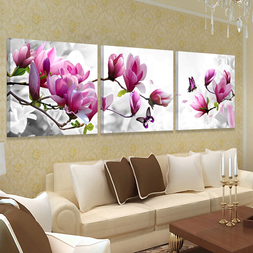 Relatively Modern home Decor Picture Wall Art Hd Print Canvas Oil Orchid  RJ76