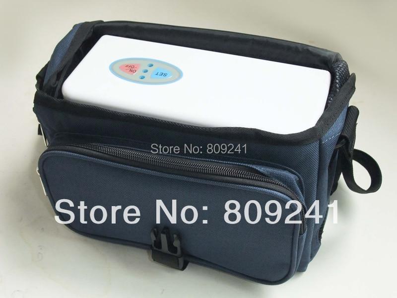 O mini concentrador portátil do oxigênio pode ser usado casa/carro/curso com duas baterias da nova geração