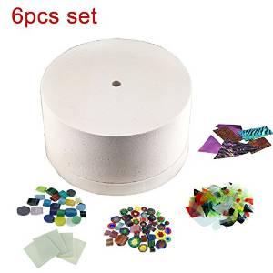 Kiln 8pcs Set of Large Microwave Kiln Kit For Glass Fusing