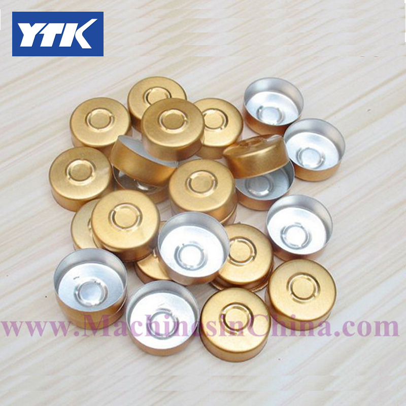 100pcs 20 Sub Golden Bayonet Vials Sealed Aluminum Plastic Cover